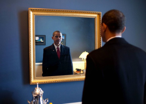 Obama Look Himself In The Mirror