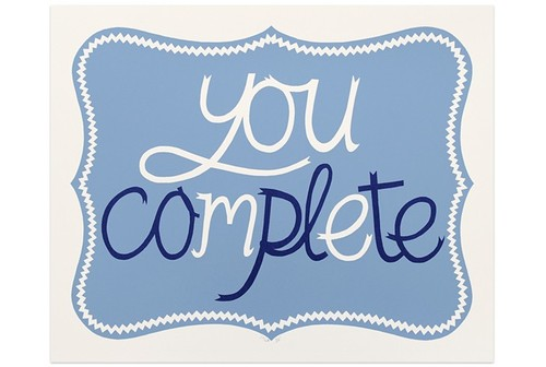 You Are Complete