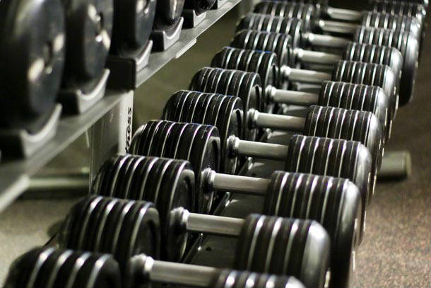 Gym equipment vs free weights workout pros and cons