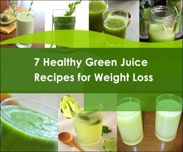7 Green Juice Recipes for Weight Loss