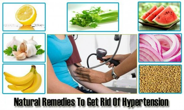 High Blood Pressure Natural Remedies