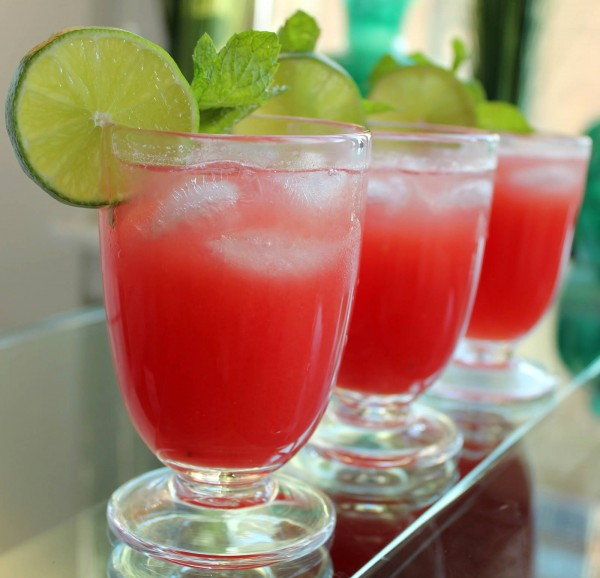 Tropical Watermelon Juice Set