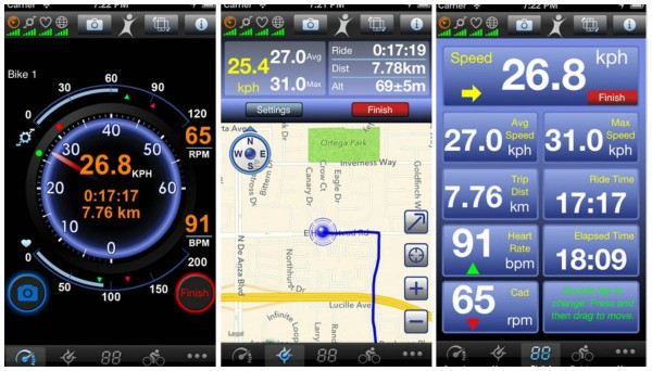 Cycling Tracking Application