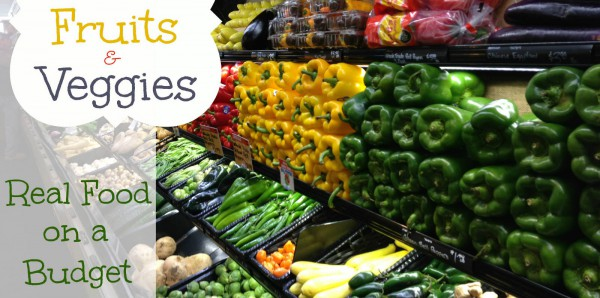 Eating Habits - Real Food on a Budget