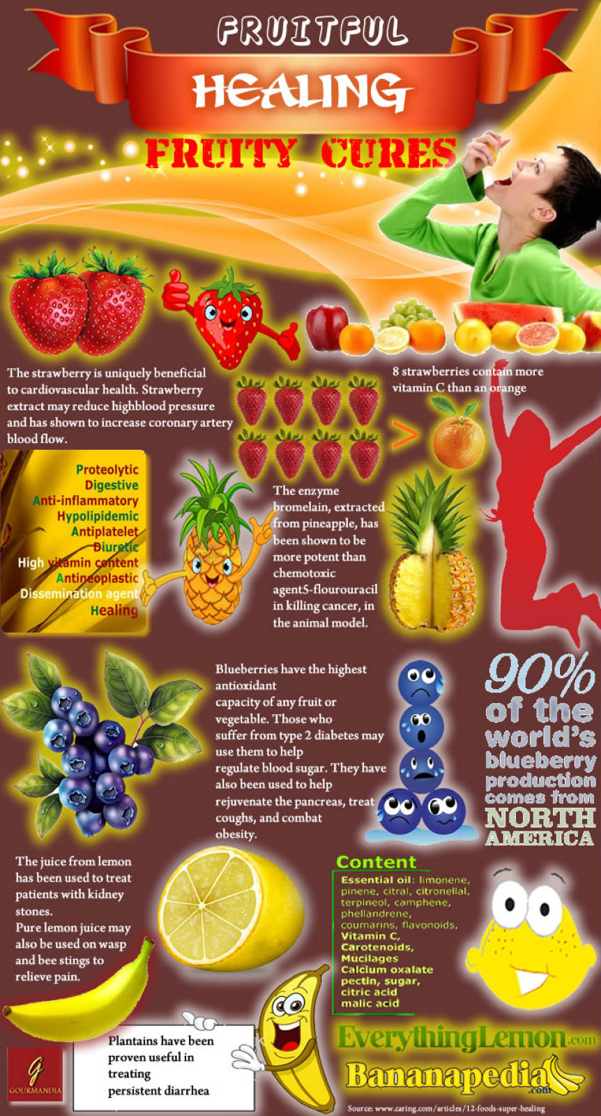 Healing Foods - Fruits