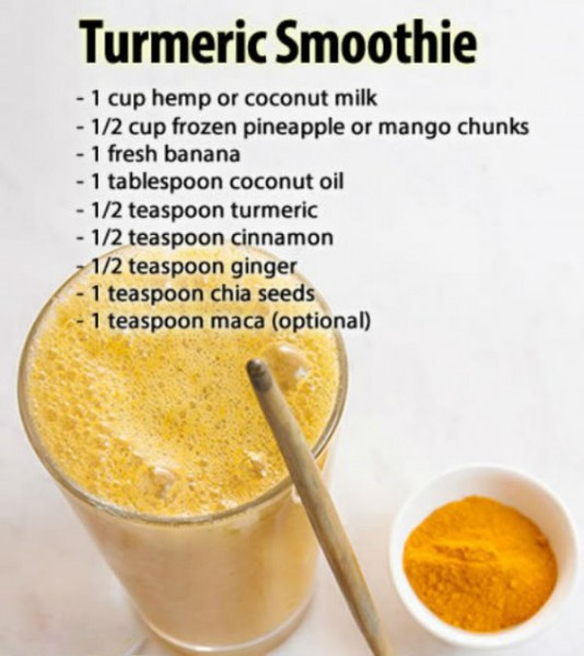 Turmeric Smoothie Recipe Unbelievably Tasty And Powerful