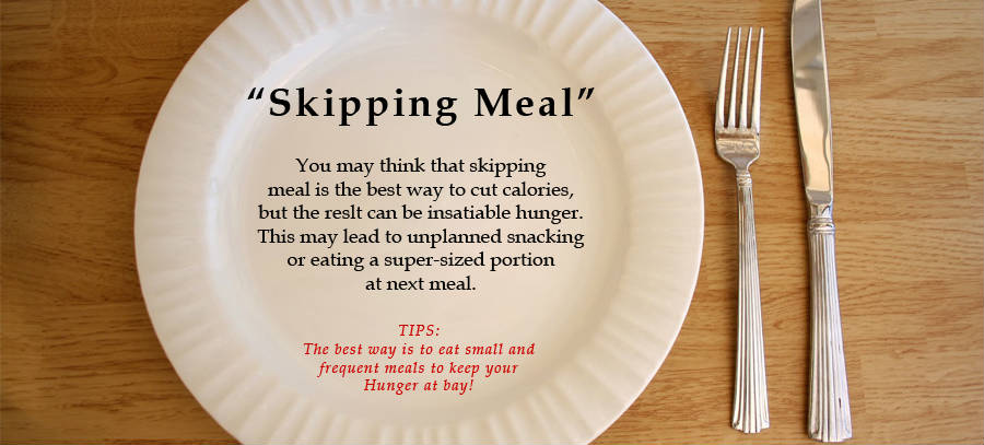 Never Skip a Meal