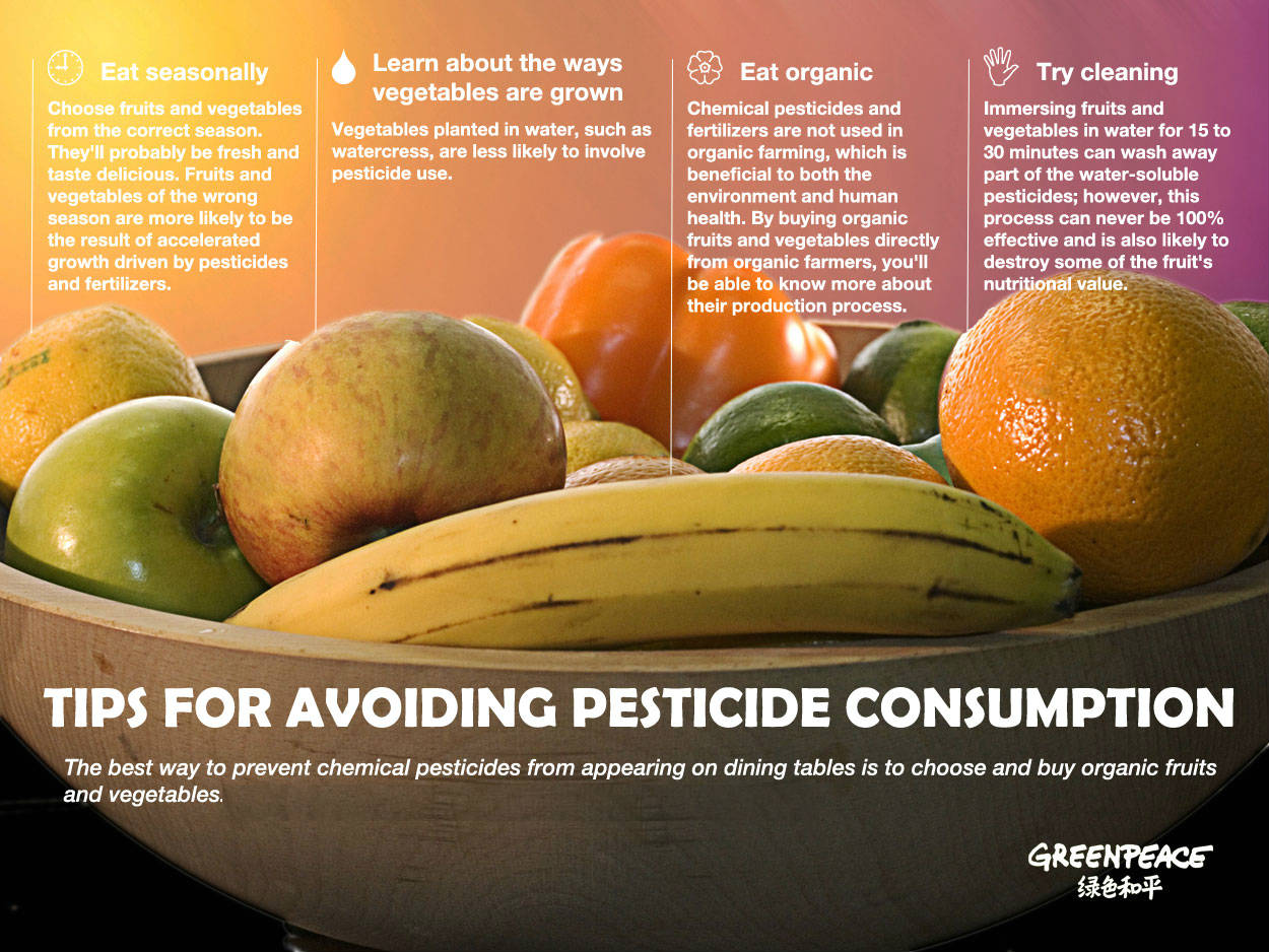 A Few Simple Tricks To Remove Pesticides From Vegetables And Fruits