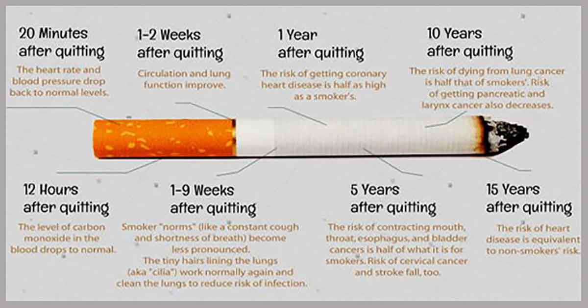 10 Things That Happen To Your Body When You Stop Smoking