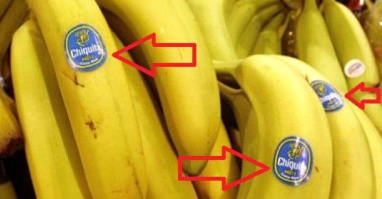 Be Careful What Are You Buying - Did You Know What Does The Stickers on The Fruits Mean