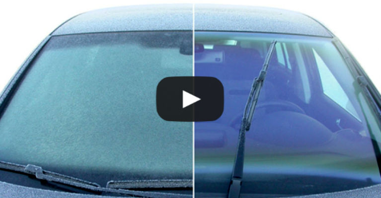 Remove Ice from Your Windshield Fast