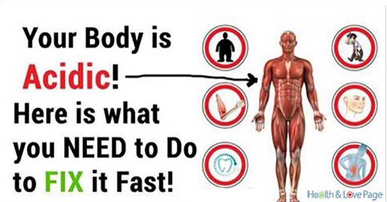 Signs that Indicate Your Body is Too Acidic and How to Fix it Fast