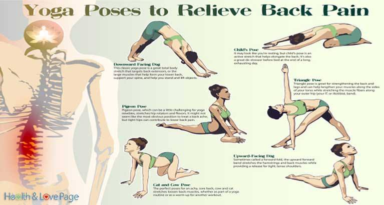 8 Yoga Poses to Relieve Back Pain in Only 8 minutes