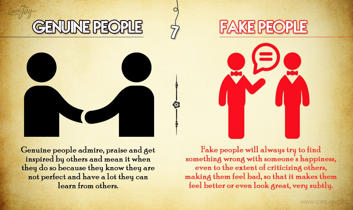 Do Not Complain If The Person You Love Don T Love You Back: 8 Differences Between A Genuine Person And A Fake Person