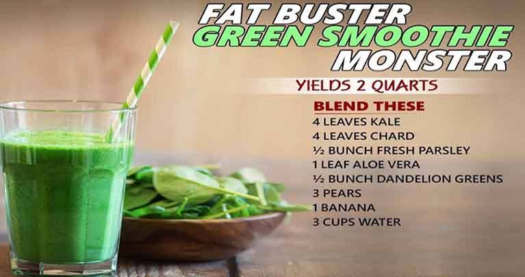 Let S Burn Fat Easily With These 6 Green Smoothies