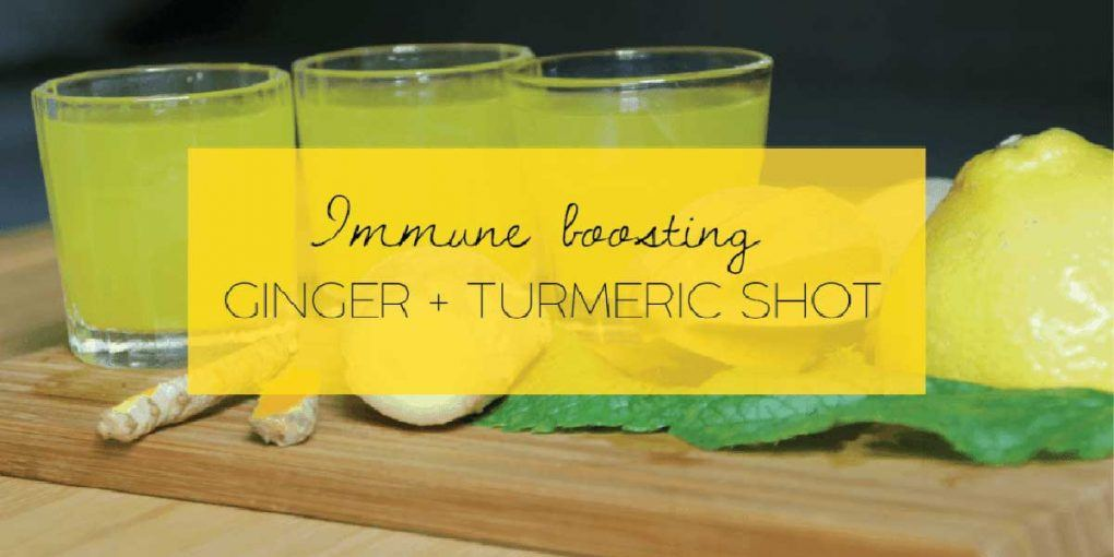 This Miracle Ginger Turmeric Shot Will Prevent the Onset of Any Sickness