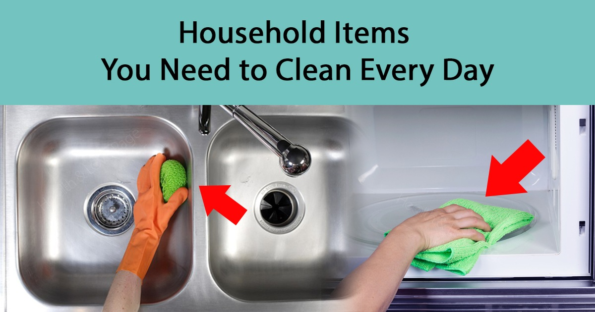 Clean These Common Household Items to Prevent Many Diseases and Illnesses