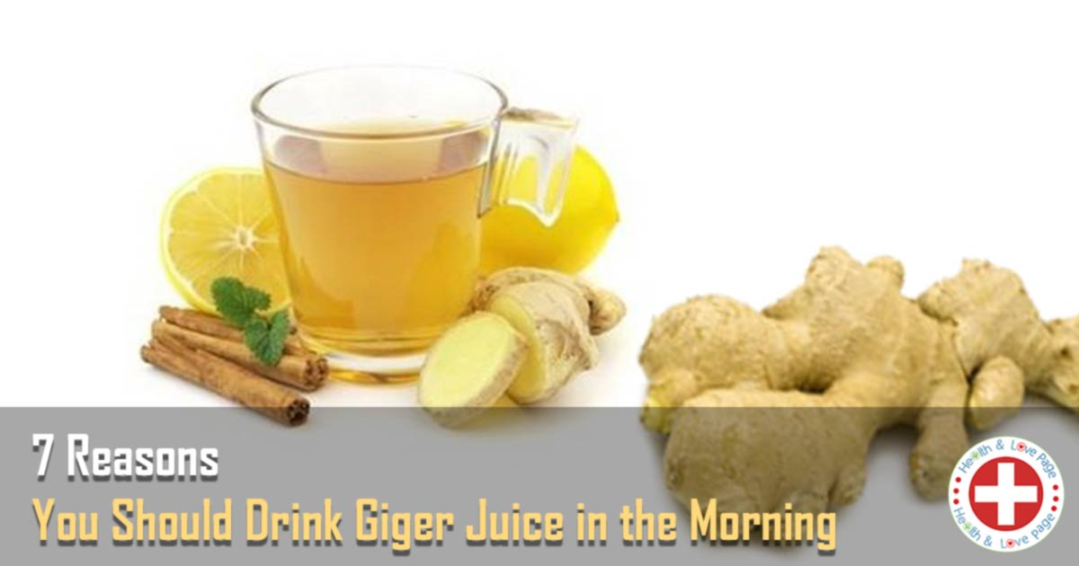This is Why You Should Drink Ginger Juice in the Morning
