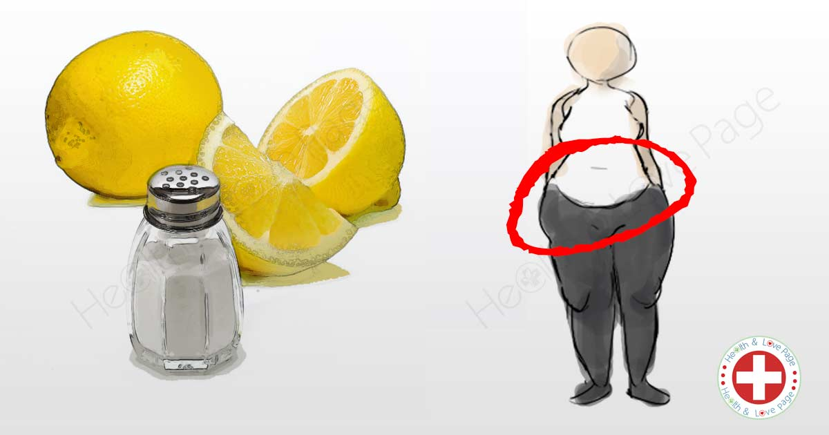 How to Use Salt and Lemon to Help Lose Your Belly Fat Quickly